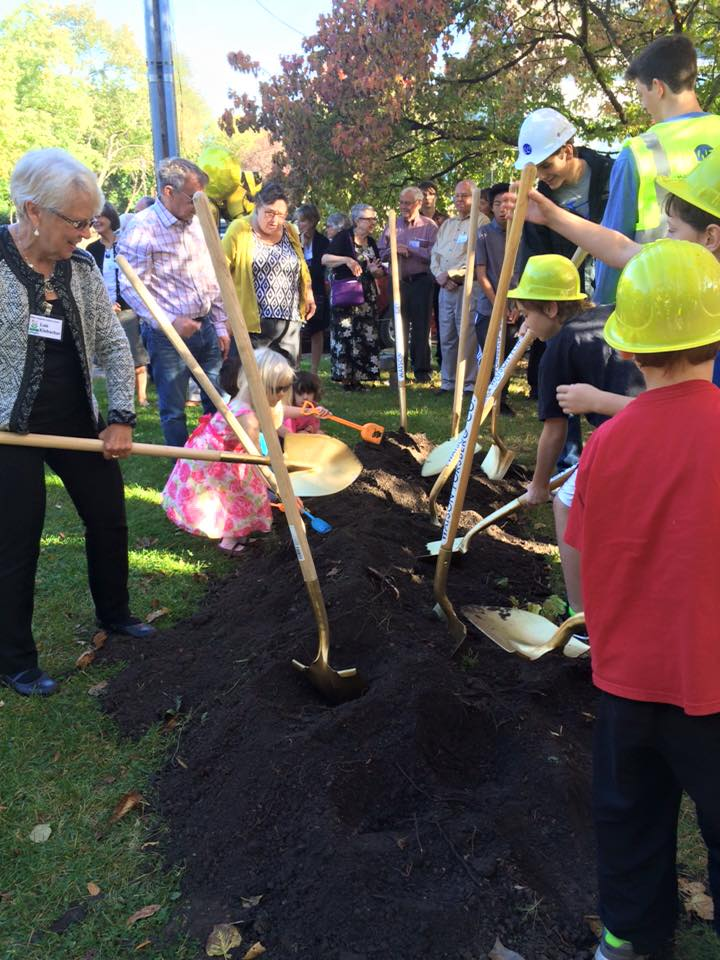 On the morning of October 11, ECLC folks of all ages celebrated the launch of our long-awaited building project.