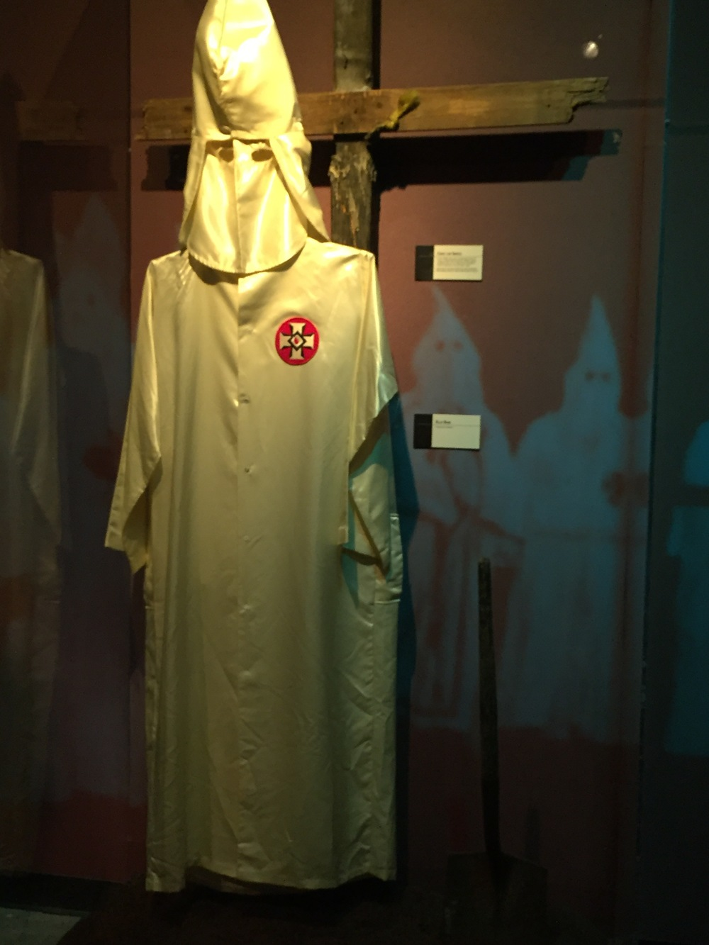 Klan Robe at the Civil Rights Museum