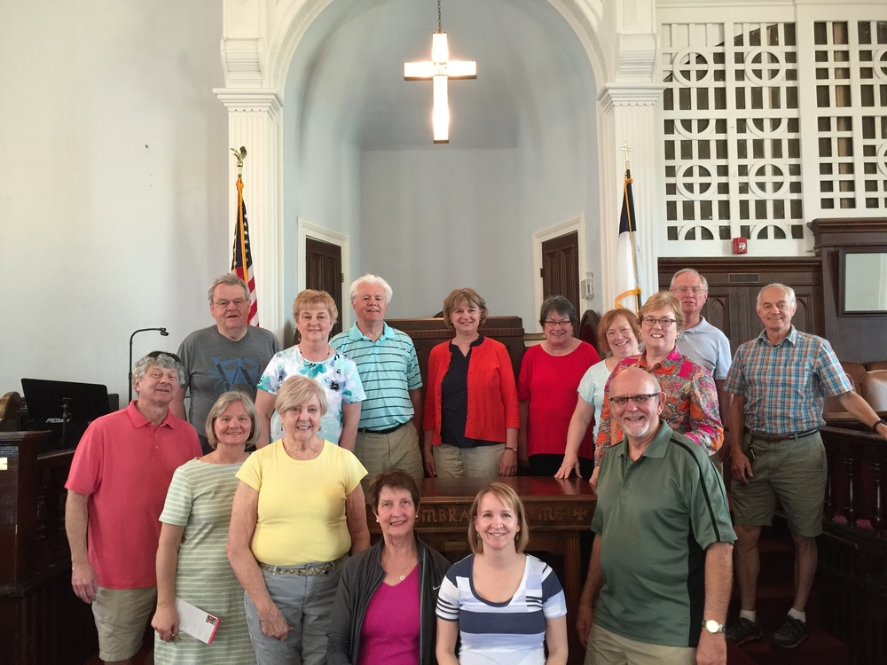 At MLK's Dexter Avenue Baptist Church