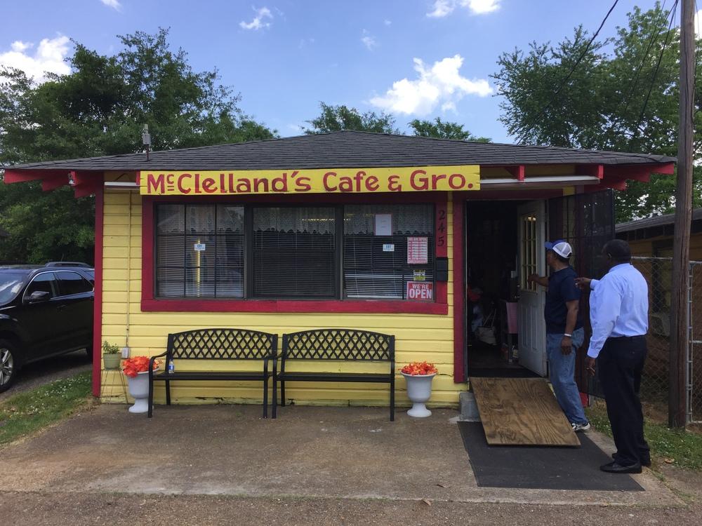 McClellan's Cafe Exterior