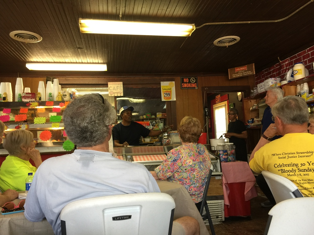 McClellan's Cafe Interior