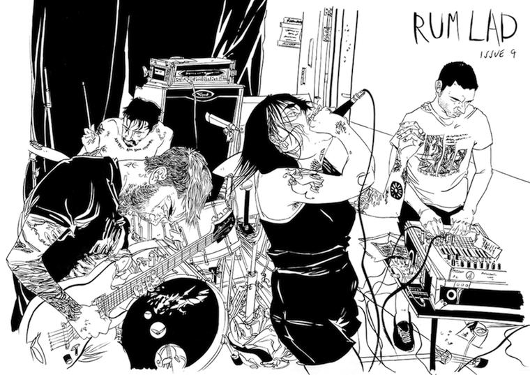 cover of rum lad #9
