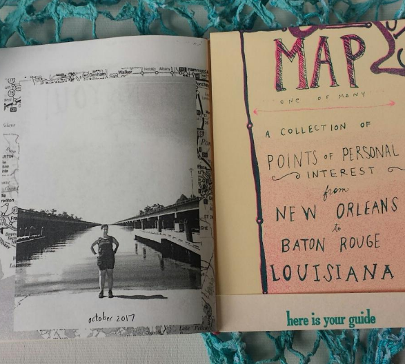 the inside back cover and map