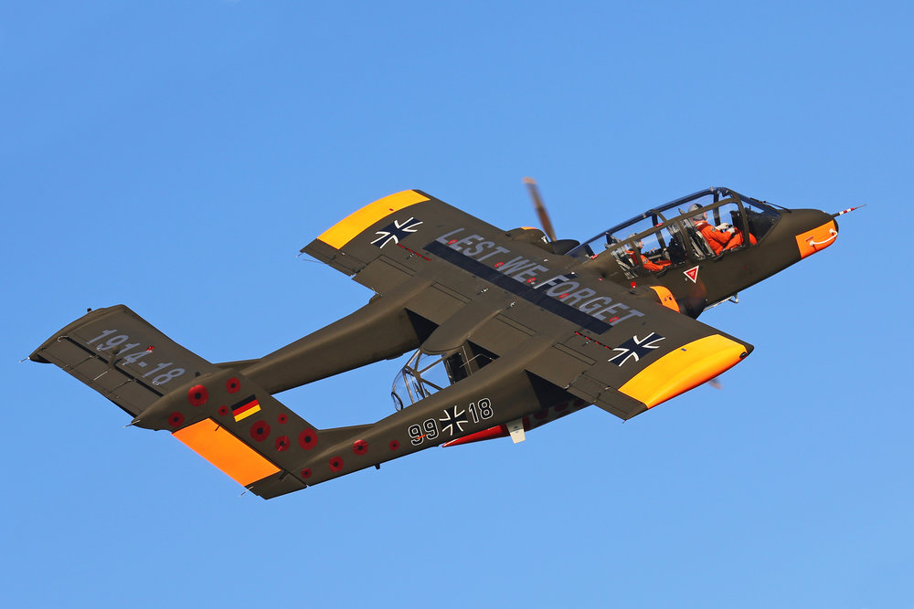 The OV-1O Bronco soon to be a camera ship