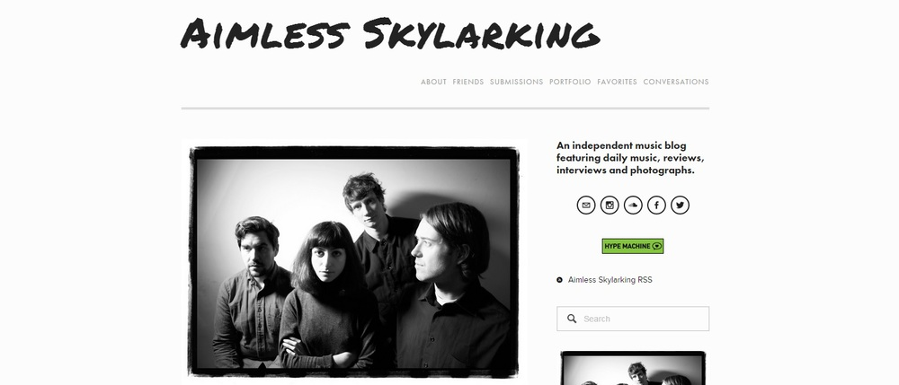 Aimless Skylarking