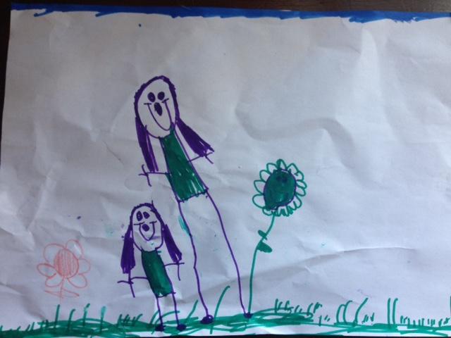Eva and Mummy