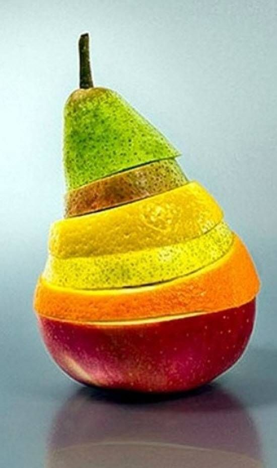 Pic via Pinterest - an excellent site to get creative ideas inpreparing food