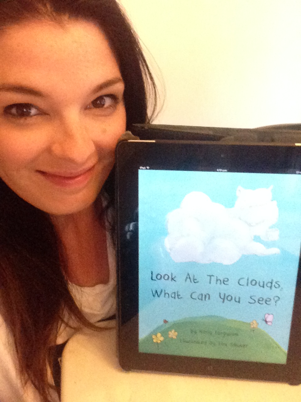 My book, Look At The Clouds, What Can You See? ... Coming Soon to Itunes