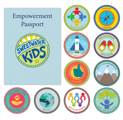 Sweetwater Kids Badge Packet                                     From $10.00