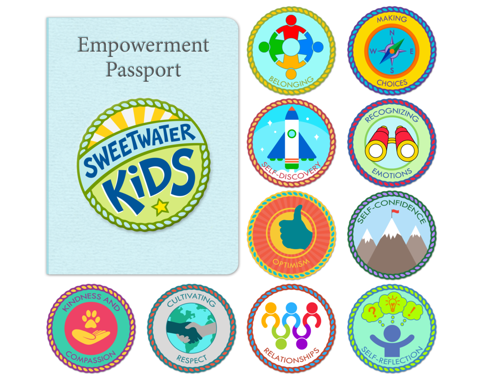 Sweetwater Kids Passport and Badge Program
