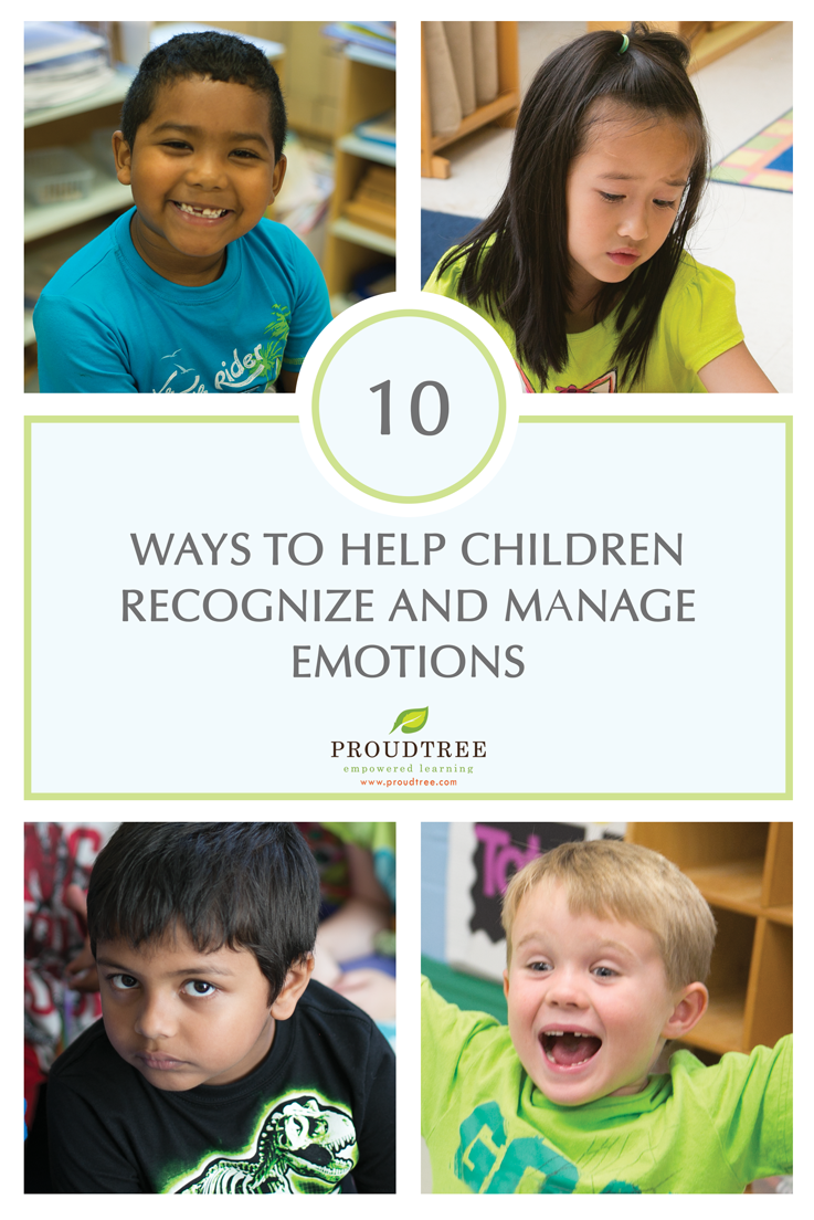 Helping Children Recognize and Manage Emotions