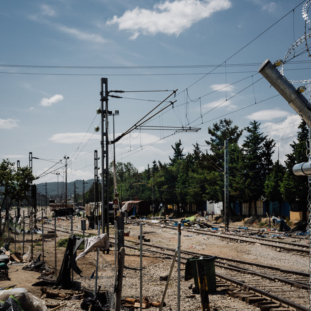 The aftermath of the massive relocation programme in Idomeni Camp, Greece | 2016