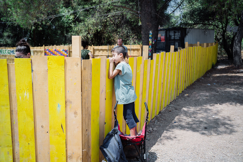 Before each class starts, Muhammad would push a little pink baby pram to the wooden fence of CFS and stand on it, calling out the volunteers inside to pass him the empty jerry can so that he can help to fill it up from the washing area some 200 hundred meters away. He would do this every single day from Monday to Saturday and return back to the compound with a filled and heavy jerry can resting neatly on the baby pram so that when the class starts, kids can wash their hands and learn about personal hygiene from the water that is collected by Muhammad himself.
