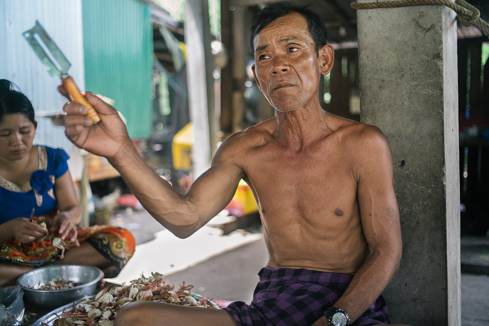 Lim Lun, 57, said he was approached by a representative from the environment ministry who surveyed if the locals would allow sand dredging to take place again in the area. This came after a sizable force of 100 people was mounted up to chase away the trawling ships from their village vicinity.