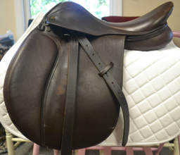 "Collegiate Saddle  |  16.5""  
