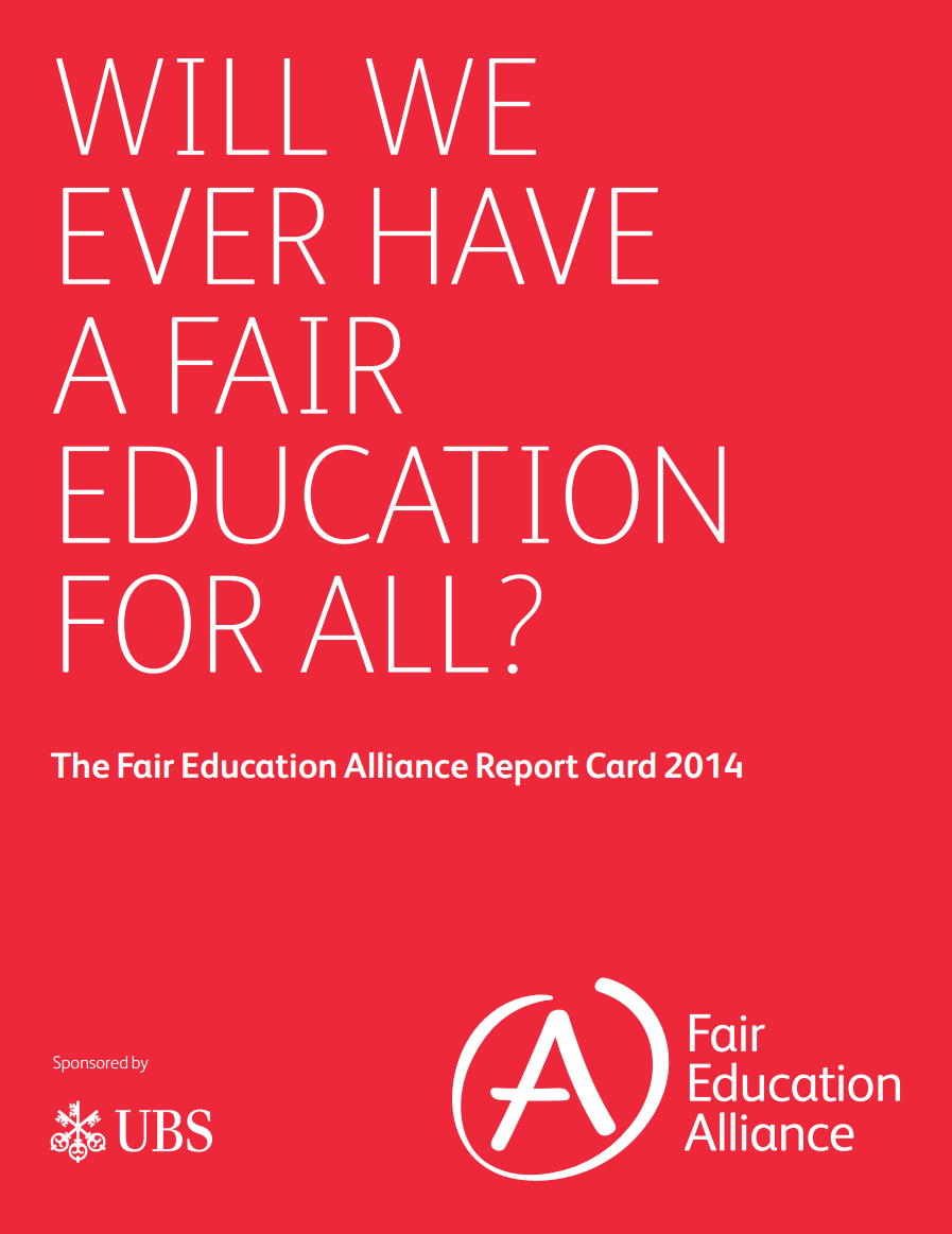 Report Card 2014 (Published Dec 2014)