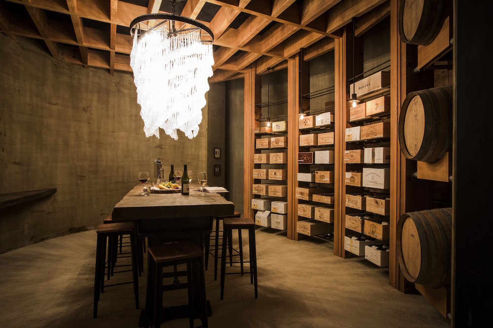 A Wine Tasting Session - Hosted by The Landing's entertaining vineyard manager, Keith Barker, this is a very special experience that takes place in an extraordinary wine cellar, tasting some delicious wines.