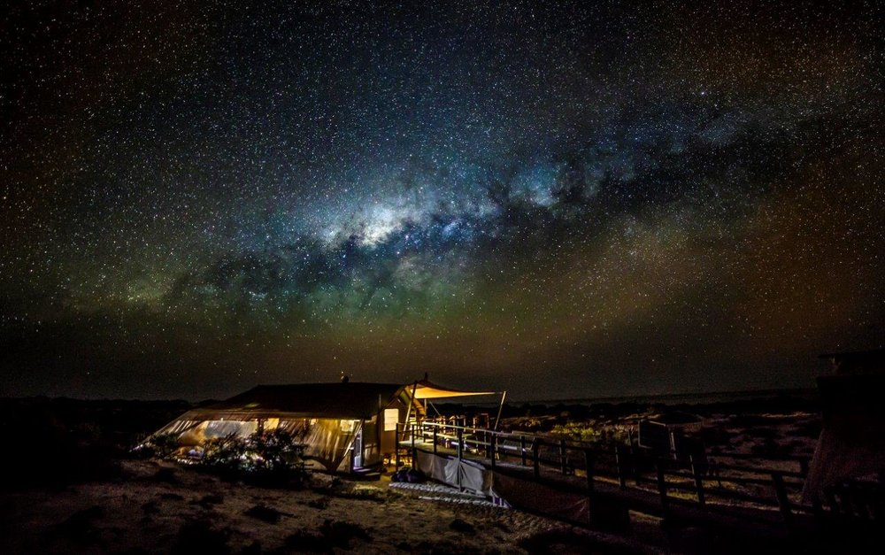 STARGAZING IN THE AUSTRALIAN OUTBACK - WESTERN AUSTRALIA