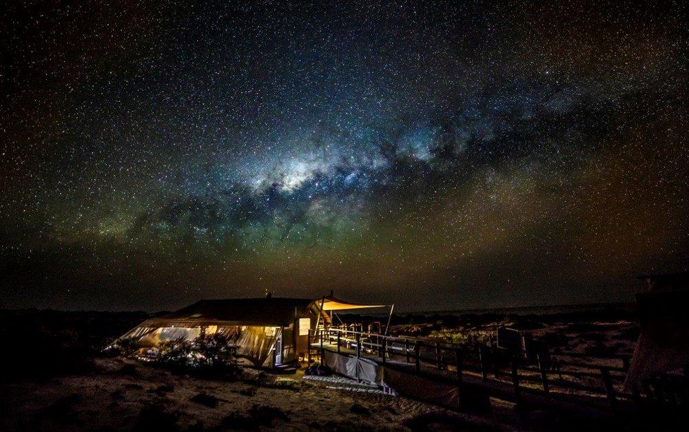 STARGAZING IN THE AUSTRALIAN OUTBACK - WESTERN AUSTRALIA