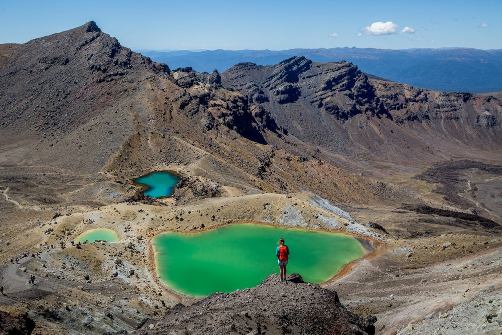 MOUNT TONGARIRO CROSSING - CENTRAL PLATEAU