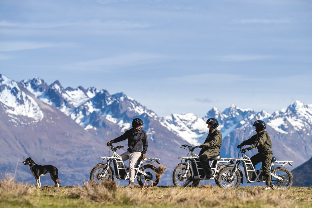 WALTER PEAK ELECTRIC BIKE TRAILS - QUEENSTOWN