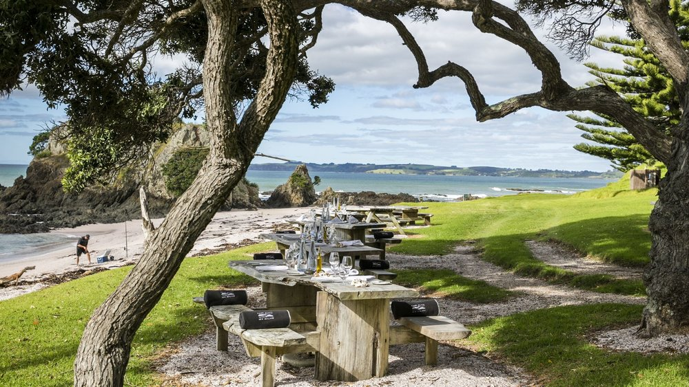PINK BEACH BBQ - KAURI CLIFFS