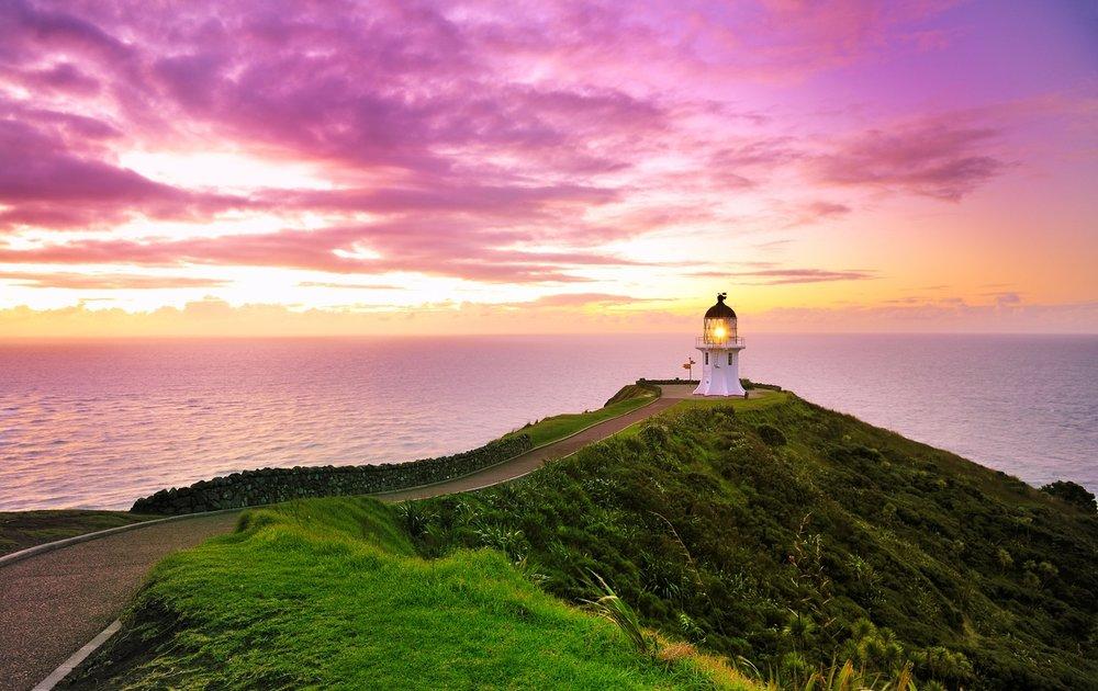 Cape Reinga Lighthouse sunrise.jpg