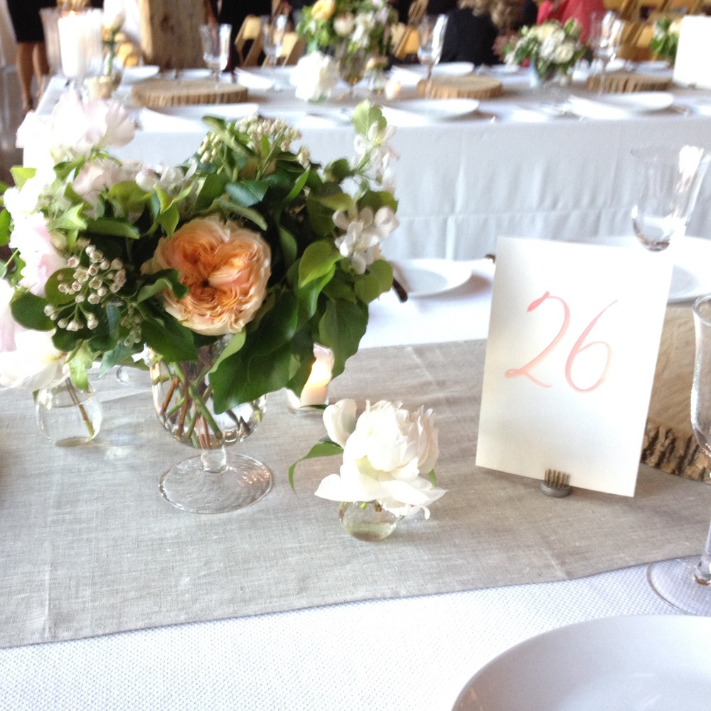 Another quick shot from the wedding above that showcases the impeccable styling and event design.
