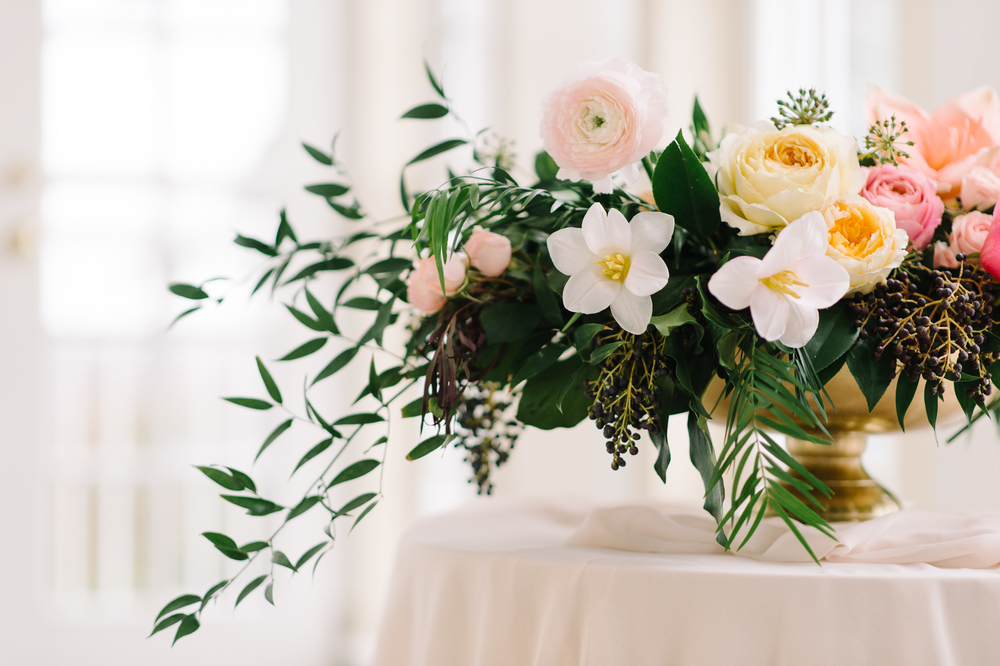elegant pastel wedding flowers | Quill+Oak Floral Design Toronto