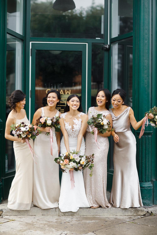 Boehmer Wedding with moody pastels | Quill+Oak Floral Design Toronto, Hamilton, Niagara