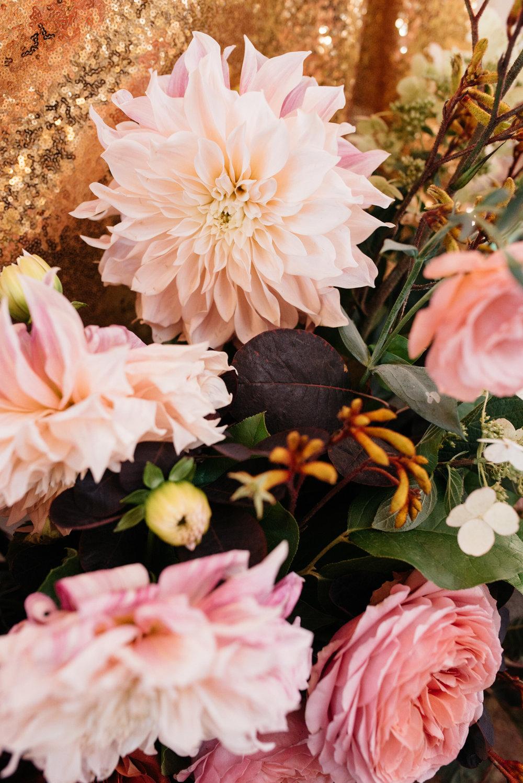 Soft fall colour palette | Quill+Oak Floral Design Toronto, Hamilton, Niagara