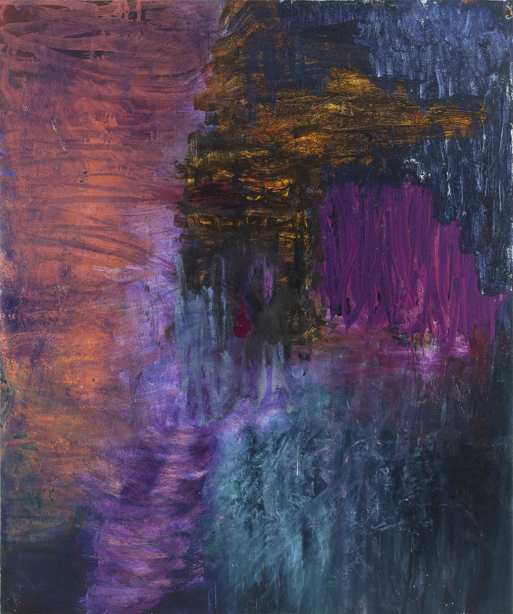 Oil on canvas. 240 x 200 cm