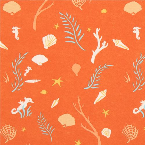 orange-with-cute-seahorse-branch-oyster-birch-knit-organic-fabric-USA-212829-1.JPG