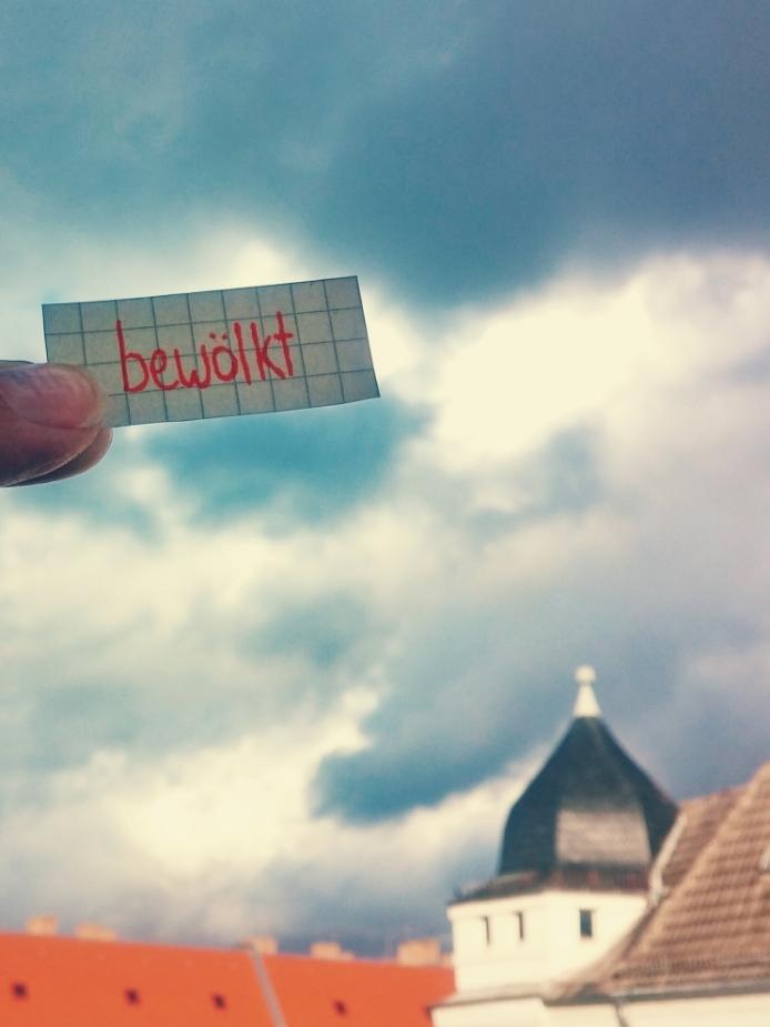bewölkt - cloudy