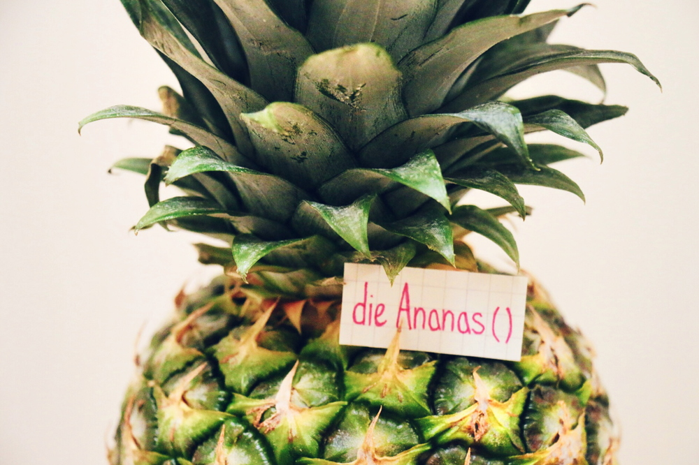 die Ananas - pineapple