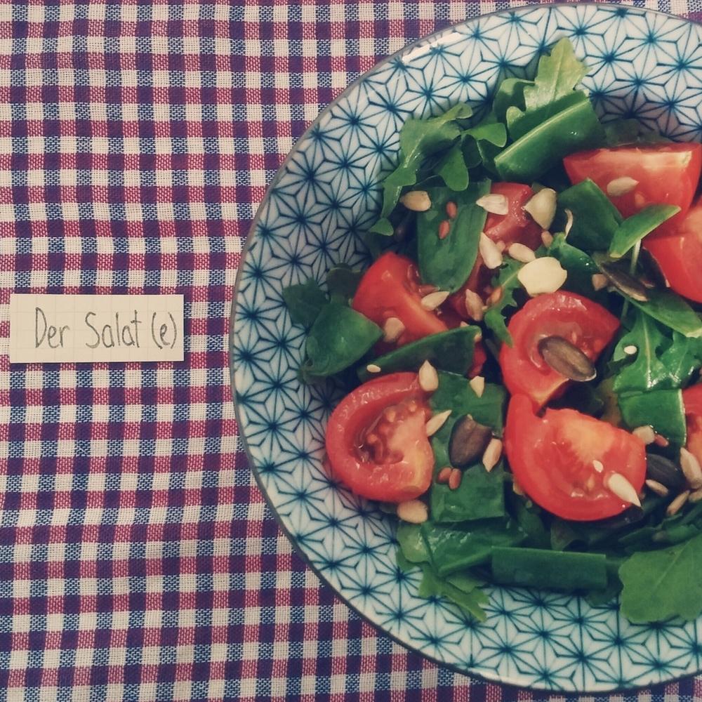 der Salat - salad