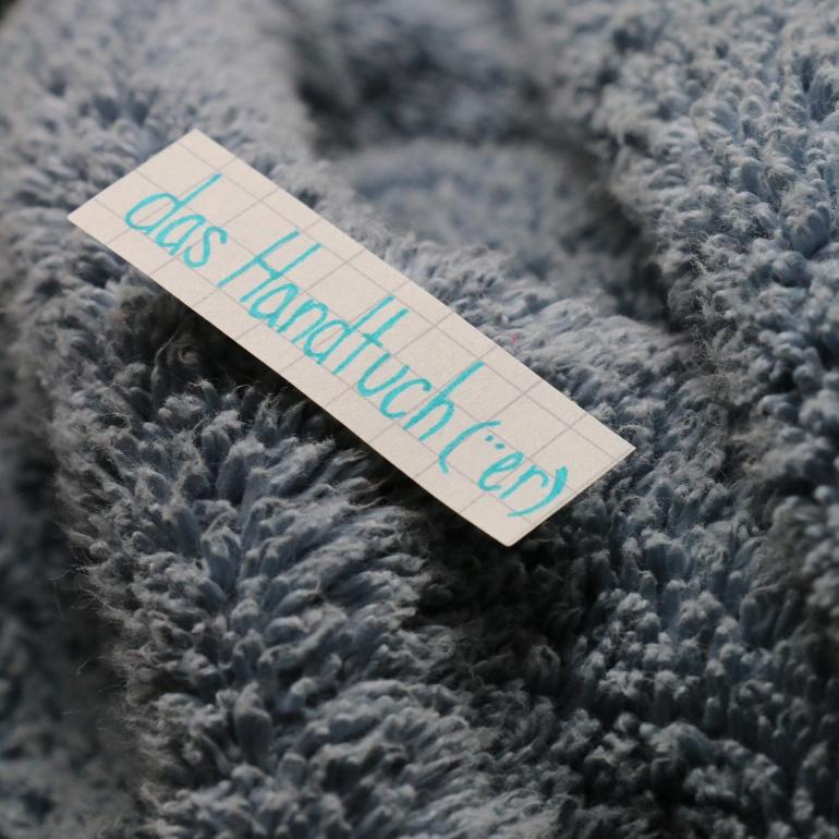 das Handtuch - towel