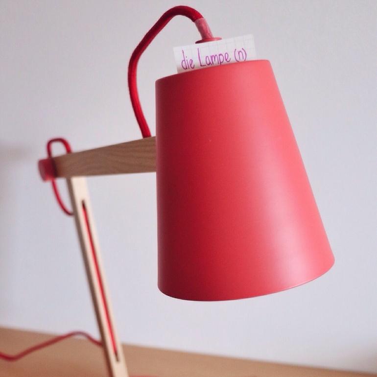 die Lampe - lamp