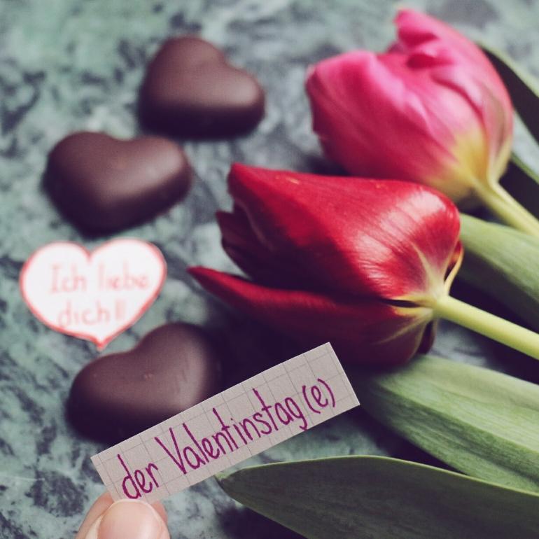 der Valentinstag - Valentine's day