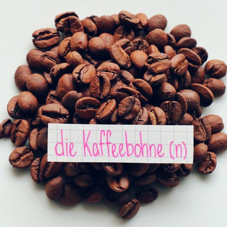 die Kaffeebohne - coffee bean