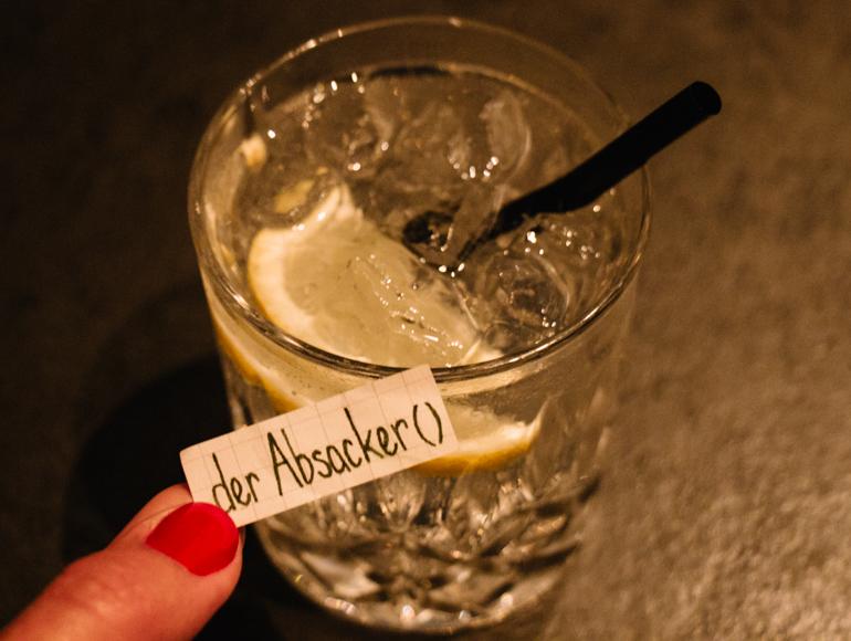 der Absacker - last drink