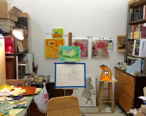 Emily Bicht | Studio Visit 2016
