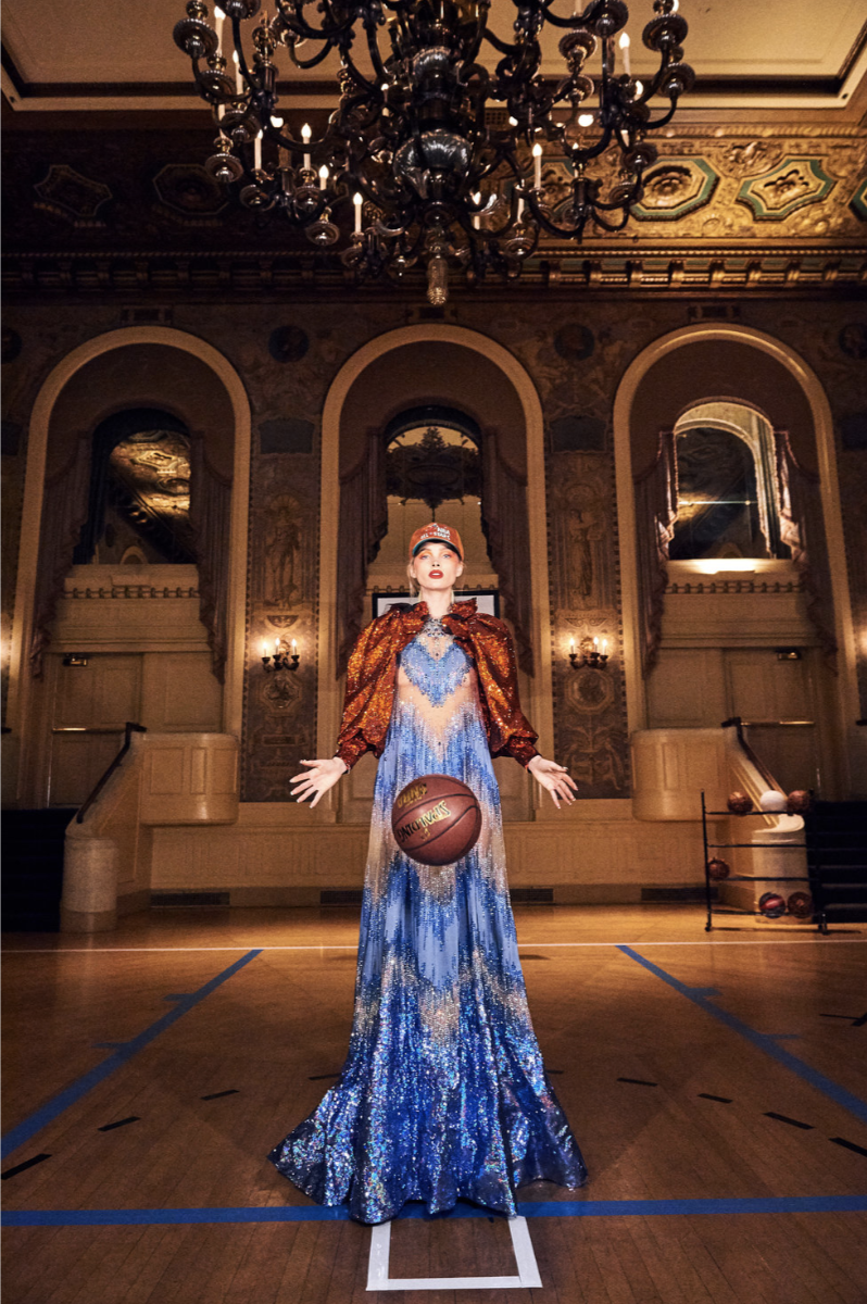 PAPER MAGAZINE BAROQUE BASKETBALL WITH ELSA HOSK -