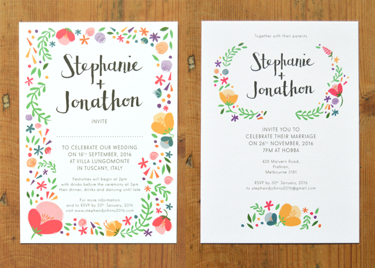 Two invites two destination celebrations dearly beloved two invites two destination celebrations dearly beloved contemporary wedding invitations stationery design stopboris Image collections
