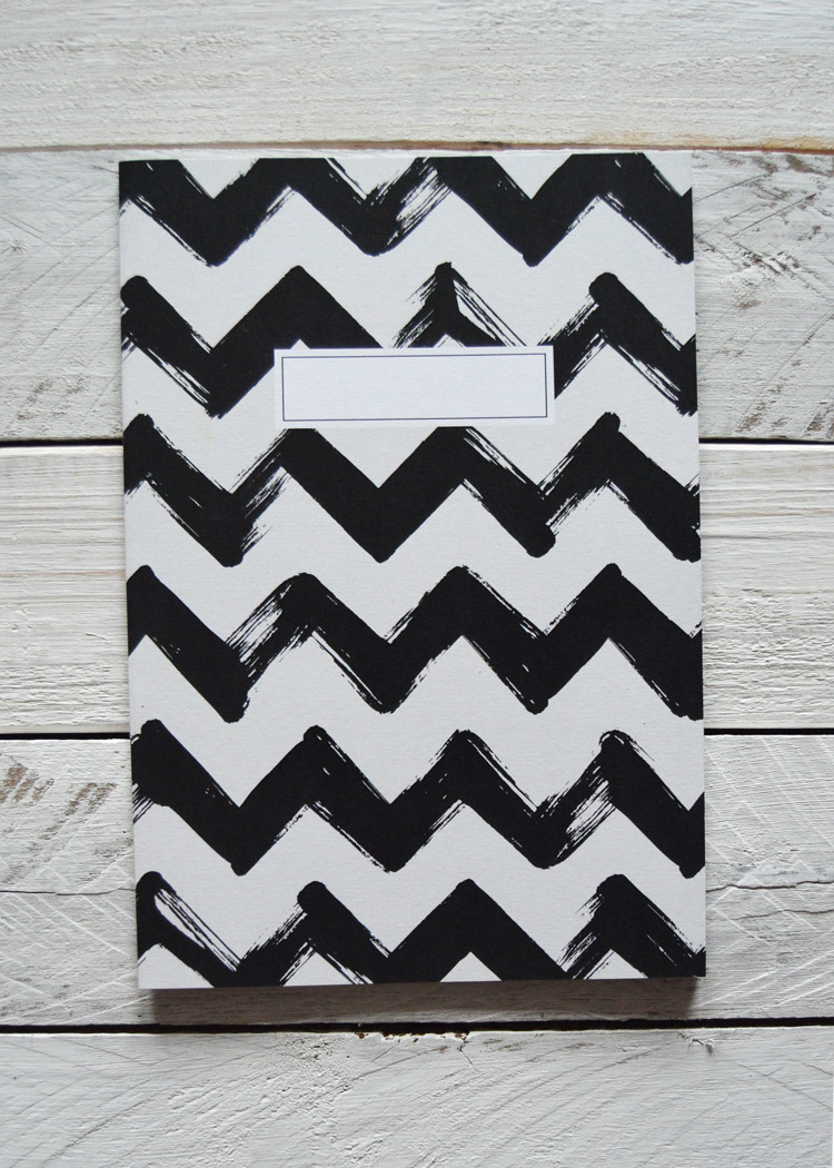 Chevron Notebook, £4.00