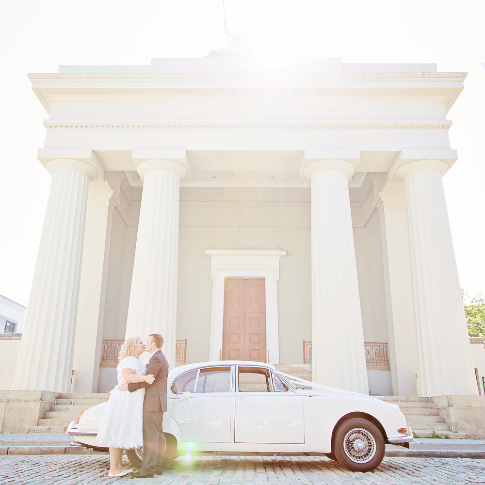 Photograph by  Little Red Book Photography   You won't find another venue in Plymouth with beautiful high ceilings, stained glass windows, period features and an irresistible sense of space and light - perfect for a modern wedding celebration!  More about Devonport Guildhall