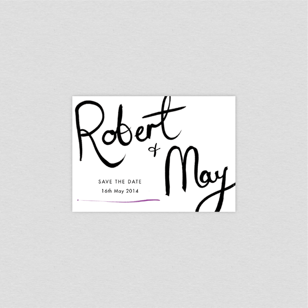 Dearly Beloved Spring Fete Save the Date Cards
