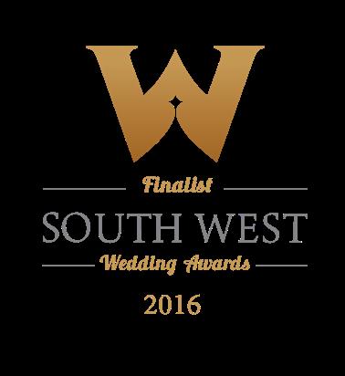 South West Wedding Award Finalist 2016