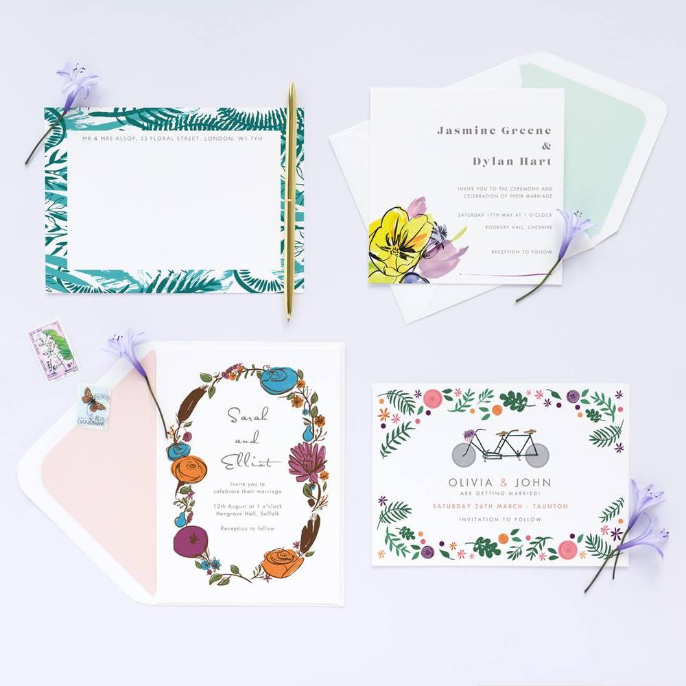 You can now customise our stationery designs yourself on the  Papier website
