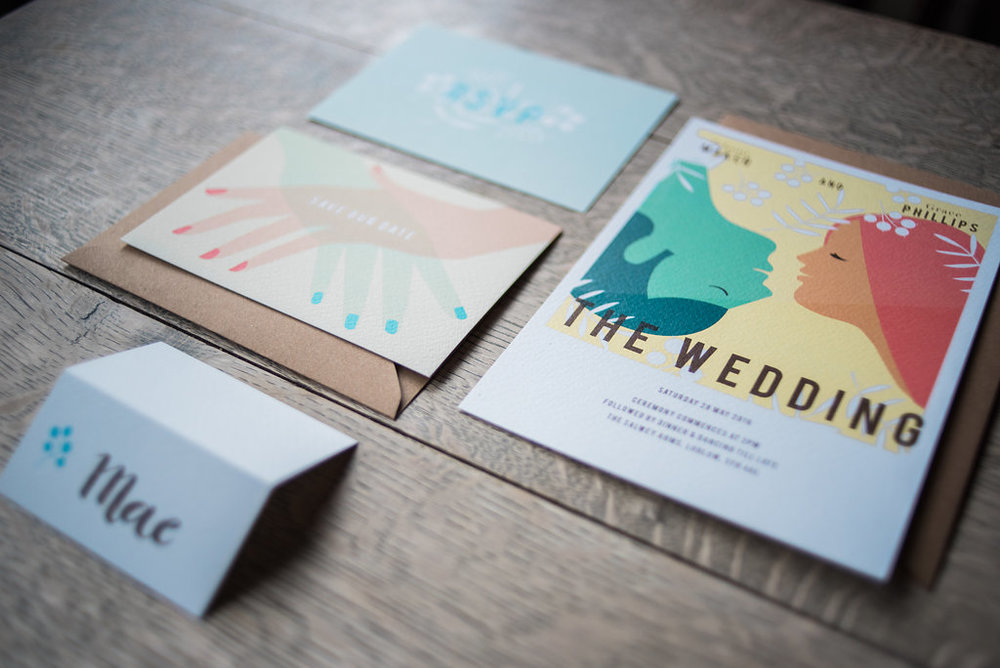 Award winning Vintage Movie wedding stationery collection is available here  - Photo by  Liberty Pearl Photography